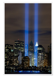 Premium poster  Tribute in Light memorial