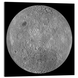 Acrylic glass  The Far Side of the Moon - Stocktrek Images