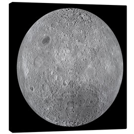 Canvas  The Far Side of the Moon - Stocktrek Images