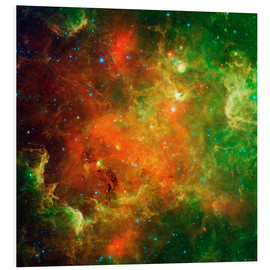 Foam board print  Clusters of young stars - Stocktrek Images