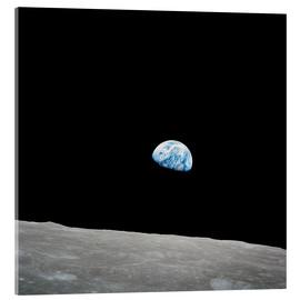 Acrylic print  Earth from the Moon - Stocktrek Images