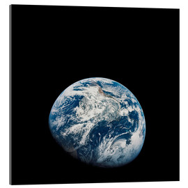 Acrylic print  Earth from the viewpoint of Apollo 8