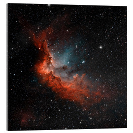 Acrylic print  NGC 7380 in true colors. - Rolf Geissinger