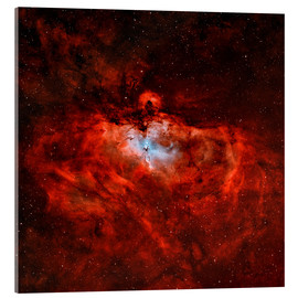 Acrylic print  The Eagle Nebula in the constellation Serpens - Rolf Geissinger