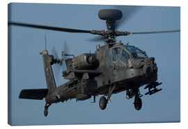 Canvas print  A U.S. Army AH-64 Apache helicopter. - Stocktrek Images