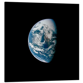 Aluminium print  View of the Earth from the spacecraft Apollo 13 - Stocktrek Images