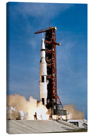 Canvas print  Apollo 11 taking off from Kennedy Space Center - Stocktrek Images