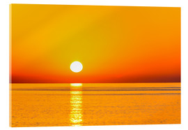 Acrylic print  Sunrise over The Sea - Jürgen Feuerer