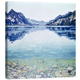 Canvas  Lake Thun Leissigen - Ferdinand Hodler