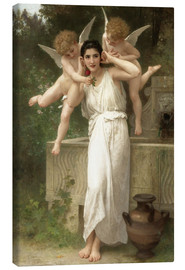 Canvas print  Youth - William Adolphe Bouguereau