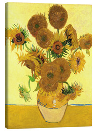 Canvas print  Sunflowers - Vincent van Gogh