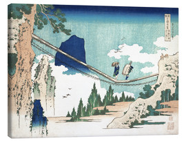 Canvas print  Minister Toru, from the series Poems of China and Japan - Katsushika Hokusai