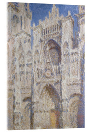 Acrylic print  Cathedral afternoon - Claude Monet