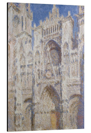 Aluminium print  Cathedral afternoon - Claude Monet