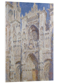 Foam board print  Cathedral afternoon - Claude Monet