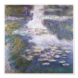 Premium poster Waterlilies, Nympheas