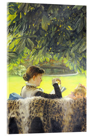 Acrylic print  Quiet - James  Tissot