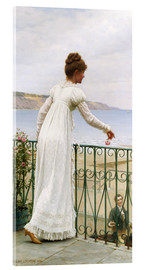 Acrylic glass  A Favour, 1898 - Edmund Blair Leighton