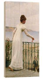 Wood print  A Favour, 1898 - Edmund Blair Leighton