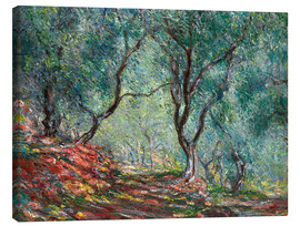 Canvas print  Olive Trees in the Moreno Garden - Claude Monet