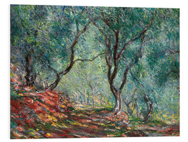 Forex  Olive Trees in the Moreno Garden - Claude Monet