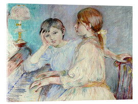Acrylic print  The Piano - Berthe Morisot