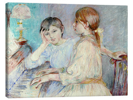 Canvas print  The Piano - Berthe Morisot