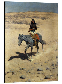 Aluminium print  Apache Indian - Frederic Remington
