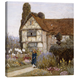 Canvas  Old Manor House - Helen Allingham