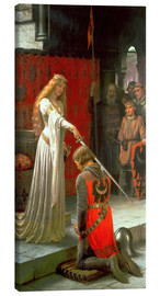 Canvas print  The Accolade - Edmund Blair Leighton