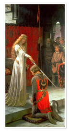 Premium poster  The Accolade - Edmund Blair Leighton
