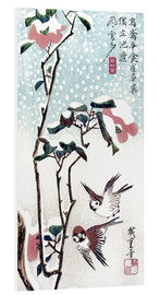 Forex  Snow, Moon and Flowers - Utagawa Hiroshige
