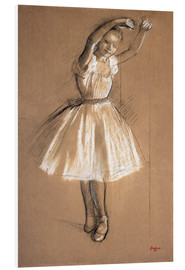 Foam board print  Small dancer - Edgar Degas
