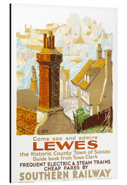 Aluminium print  Come see and admire Lewes - Gregory Brown