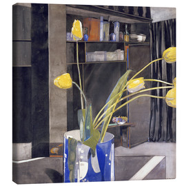 Canvas print  Yellow Tulips - Charles Rennie Mackintosh
