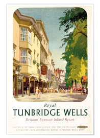 Premium poster  Royal Tunbridge Wells - Frank Sherwin