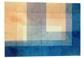 Foam board print  House on the Water - Paul Klee