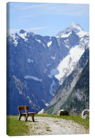 Canvas print  Peace in the Alps - Jens Berger