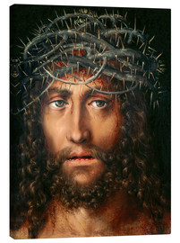 Canvas print  Christ with Crown of Thorns - Lucas Cranach d.Ä.