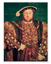 Premium poster Henry VIII. Of England