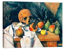 Paul Cézanne - Nature morte au crane
