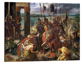 Aluminium print  The conquest of Constantinople by the crusaders - Eugene Delacroix