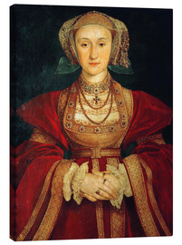 Canvas print  Anne of Cleves - Hans Holbein d.J.