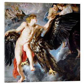 Acrylic print  Abduction of Ganymede - Peter Paul Rubens