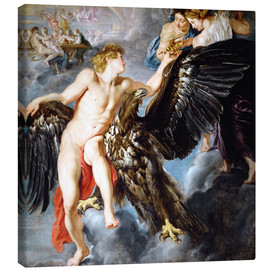 Canvas print  Abduction of Ganymede - Peter Paul Rubens