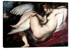Canvas  Leda and the Swan - Peter Paul Rubens