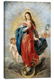 Canvas print  Immaculate Conception - Peter Paul Rubens