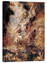 Canvas  The Descent into Hell of the Damned - Peter Paul Rubens