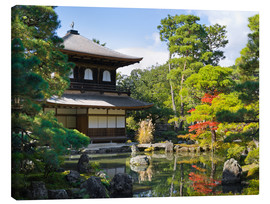 Canvas print  Ginkakuji Temple - Jan Christopher Becke