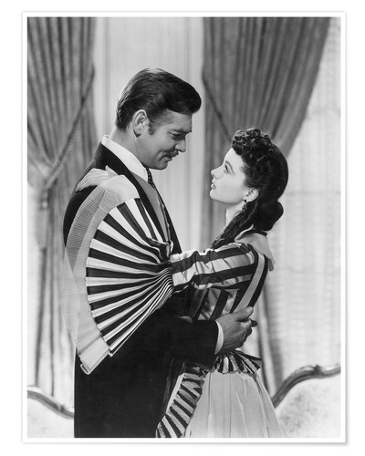 Premium poster Gone With The Wind, 1939